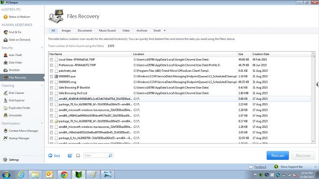 PCKeeper_FileRecovery
